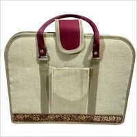 Ladies Jute Designer Hand Bag
