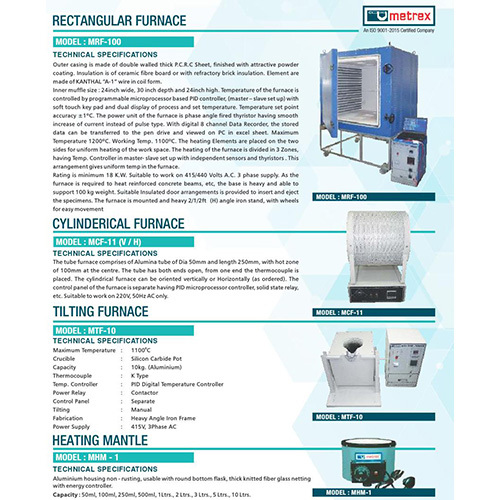 Cylindrical Furnace