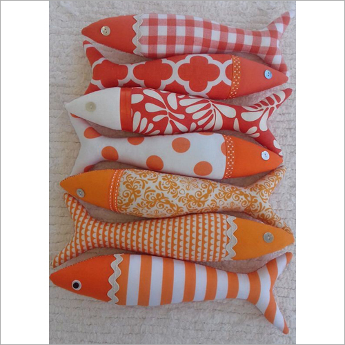 Fish Shape Soft Cushion