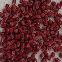 PP Red Reprocessed Granules