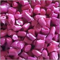 Plastic Pink Reprocessed Granules