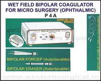 WET FIELD BIPOLAR COAGULATOR