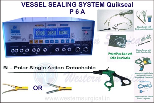 VESSEL SEALING SYSTEM Quikseal