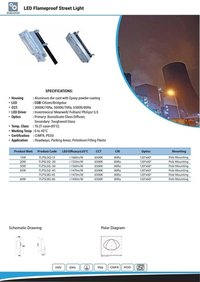 LED Flameproof Street Light 15W TO 60W