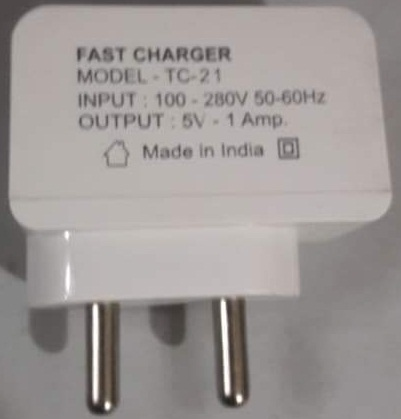 Mobile Charger 1.0A Single USB