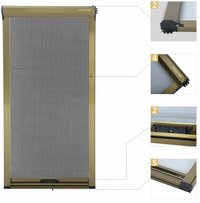 Top Rolling Fly Insect protection Screen Mesh