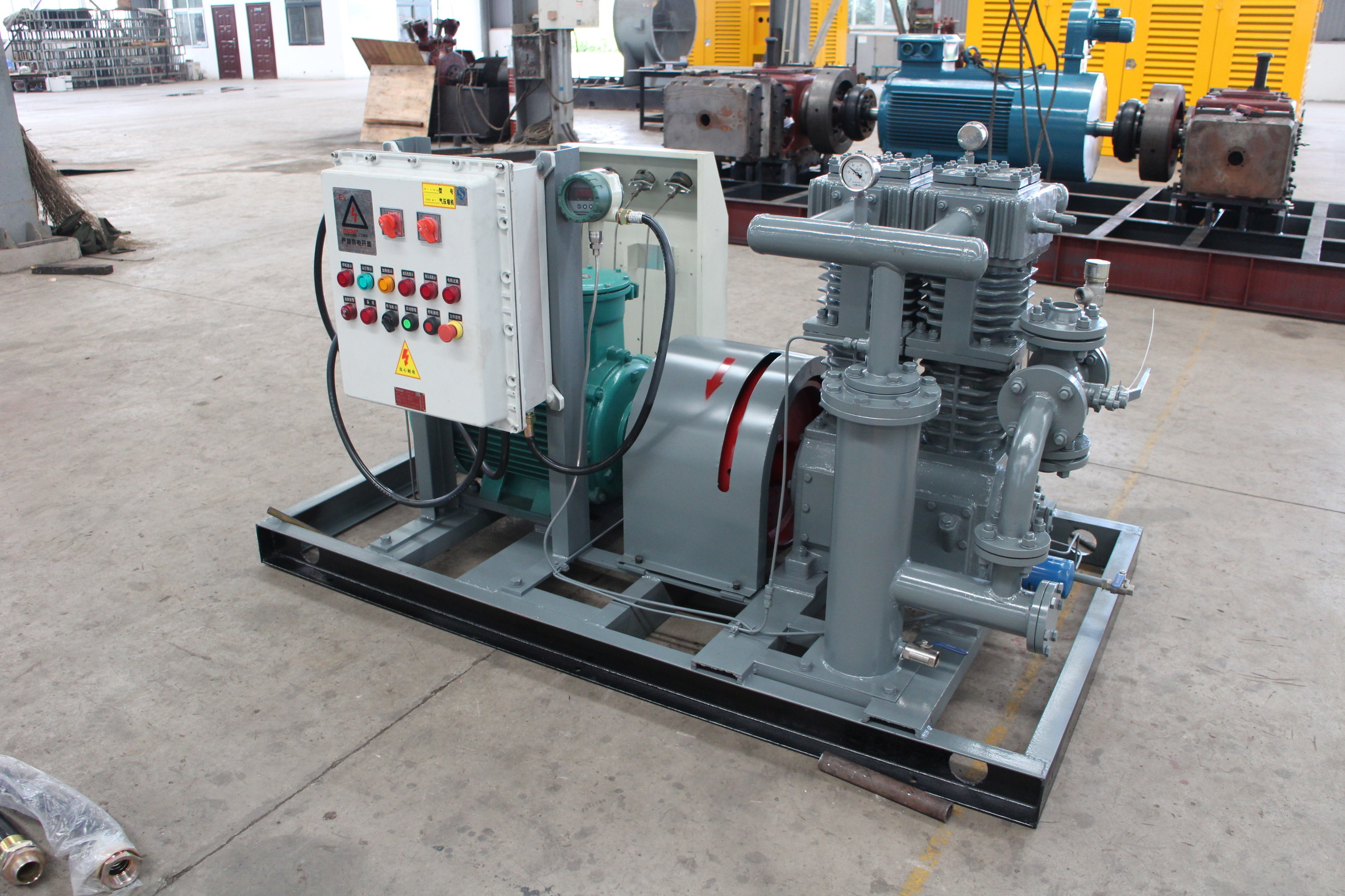 LPG Gas Compressor for filling station