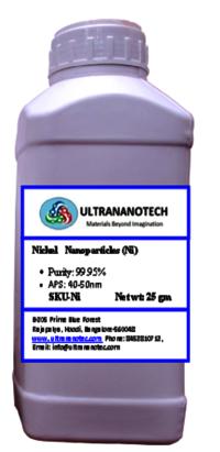 Nickel Nanopowder (Ni)
