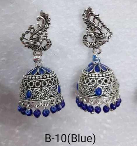 Multi colour Jhumkha Earring
