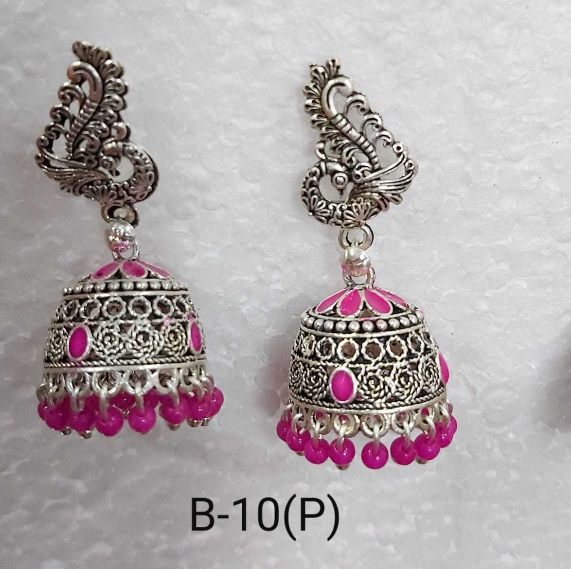 Multi colour Jhumkha Earring