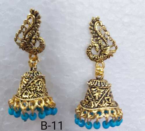 Multi Colour Jhumkha Designer Earring
