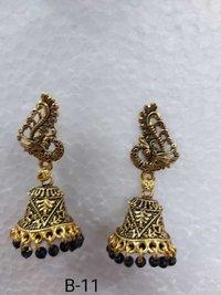 Multi Colour Jhumkha Designer Earring