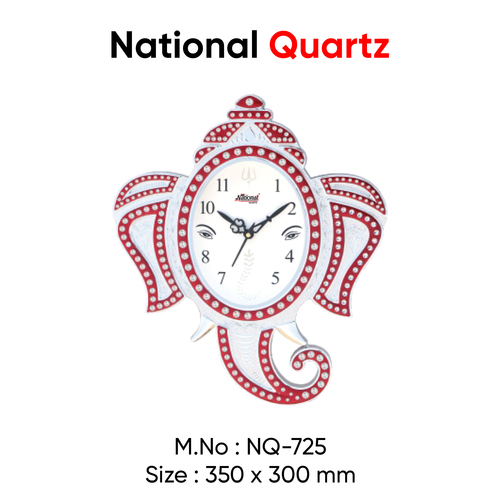 Lord Ganesh wall clock