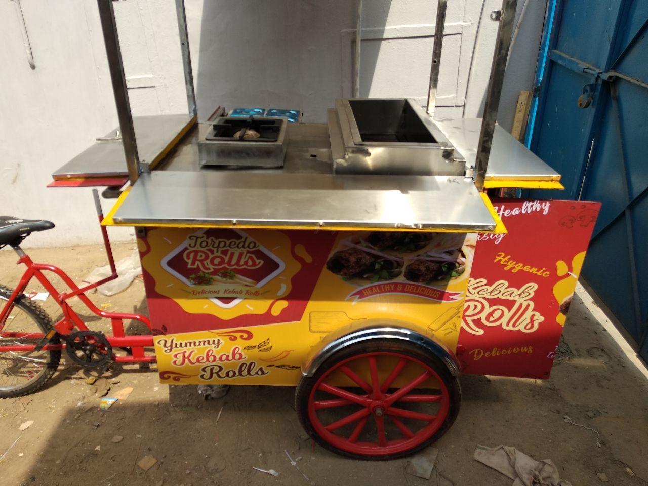 kabab wali cart