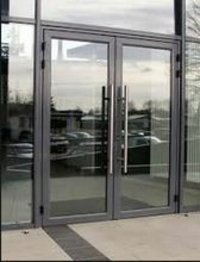 Aluminum 88mm Balcony Doors