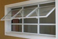 45 Mm Aluminium Casment Openable Windows
