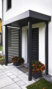 Casment Doors with aluminium louvers