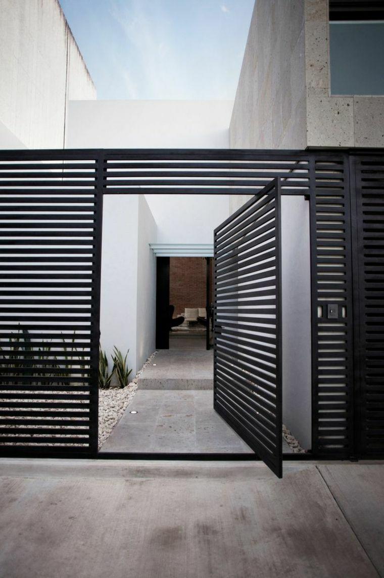 Casment Doors with aluminium louvers