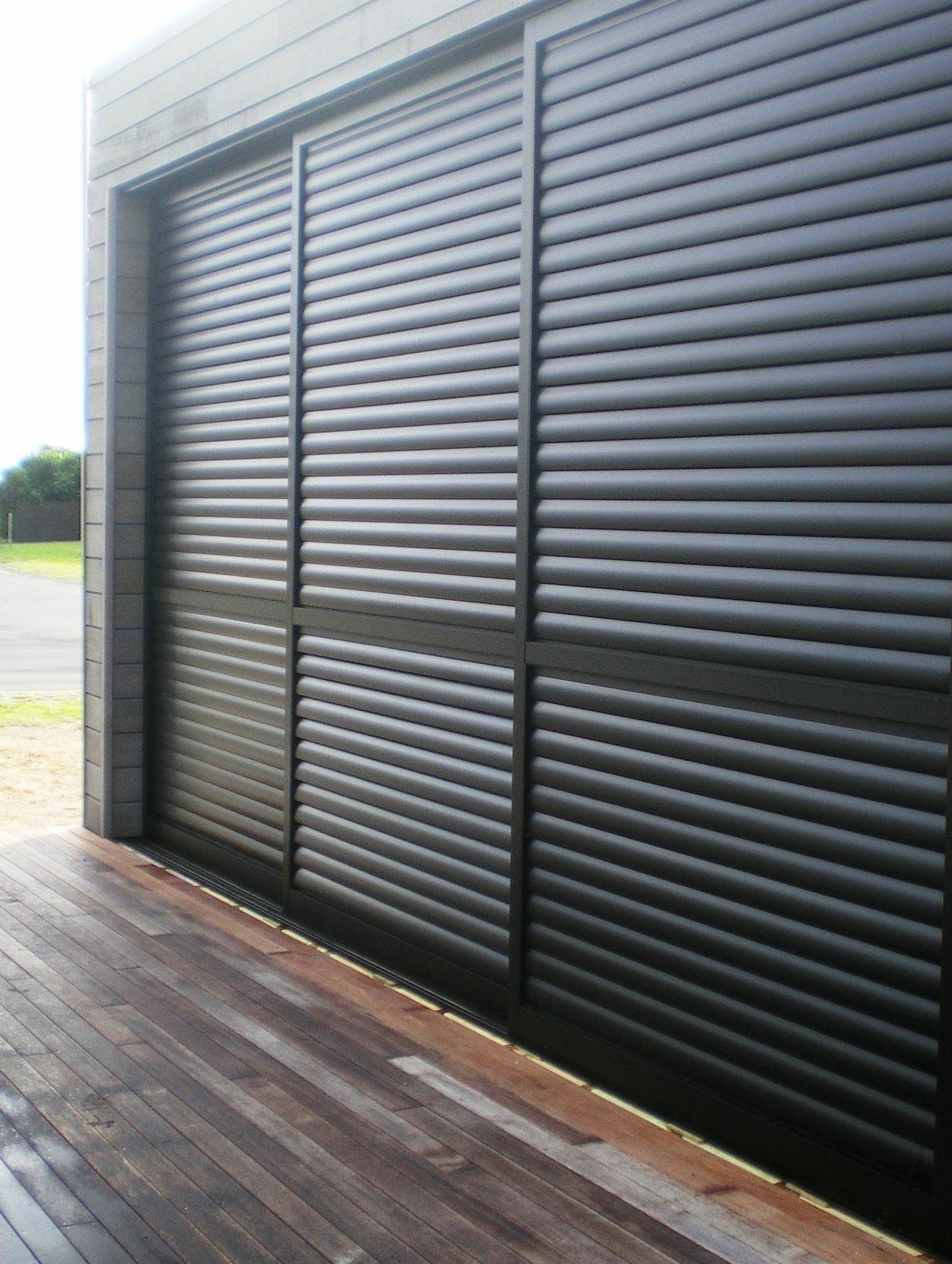 Casement Door With Aluminium Louvers