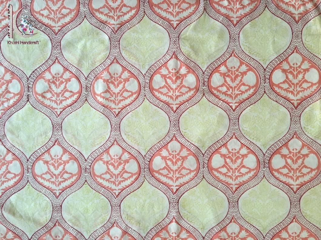 Mughal Buta Print Fabric