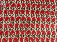 Cotton Floral Block Printed Fabric