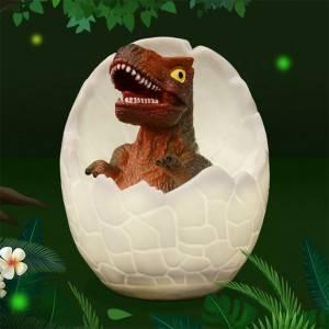 2019 New Arrived 3D Dinosaur Egg Night Light