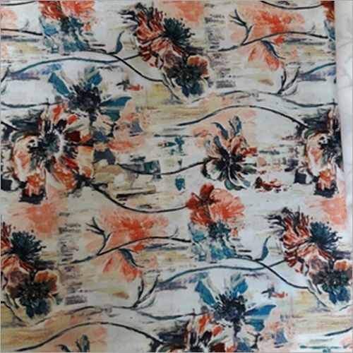 Curtain Floral Printed Fabric