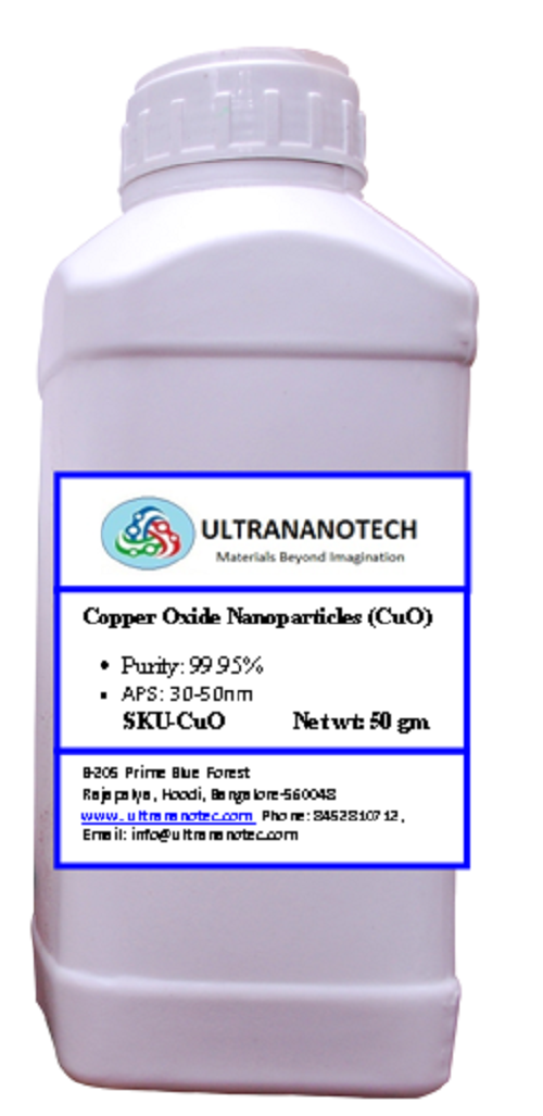 Copper oxide nano powders