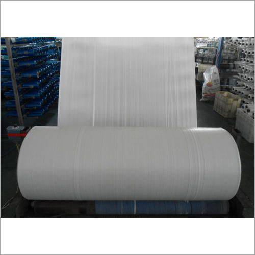 White Roll PP Woven Fabric