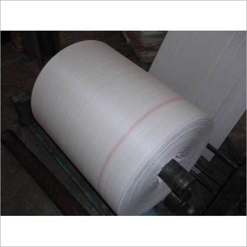White PP Woven Fabric Roll