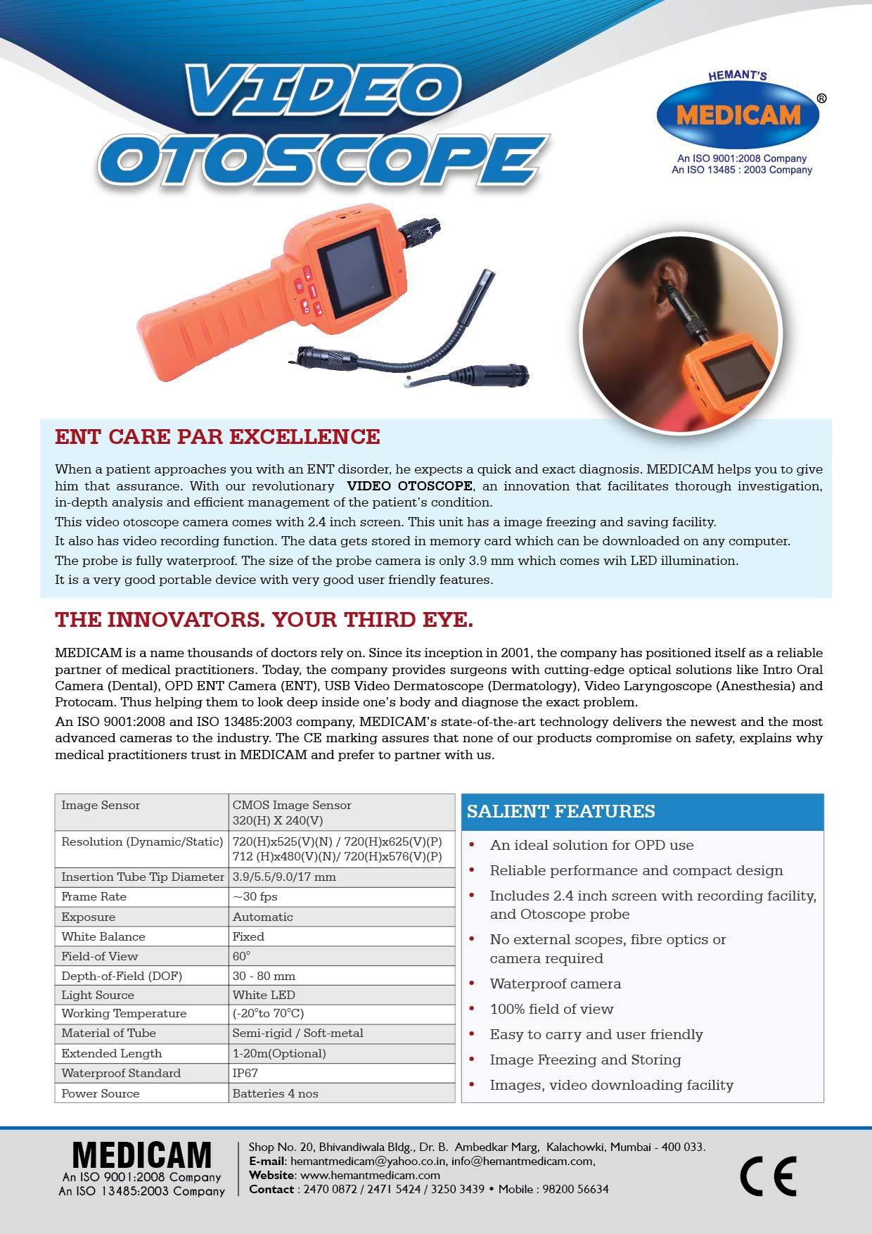 Ear Examination Camera