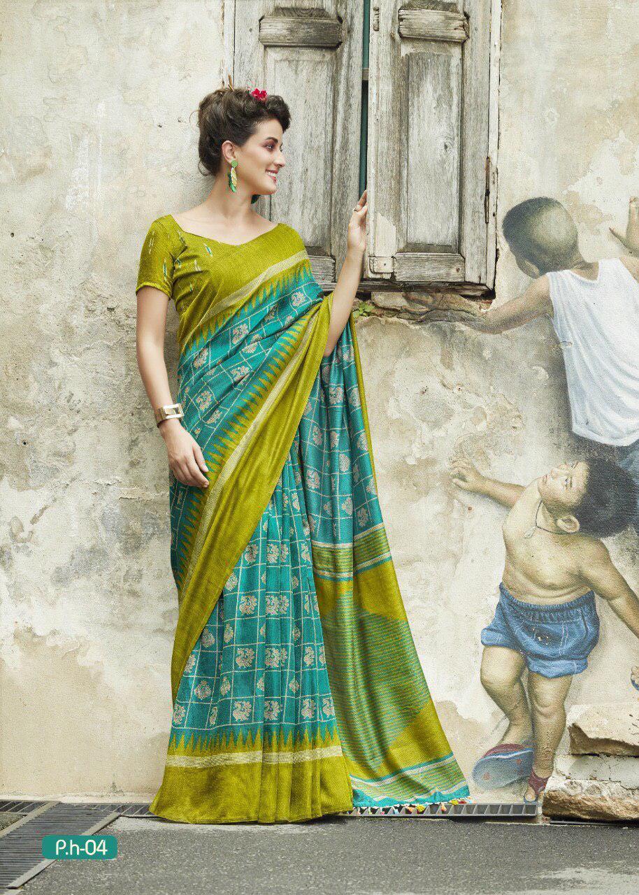 Pure Munga Tussar Silk Sarees