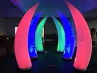 Elephant Teeth Inflatable