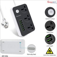 Extension Board  6 USB Port,3 Socket