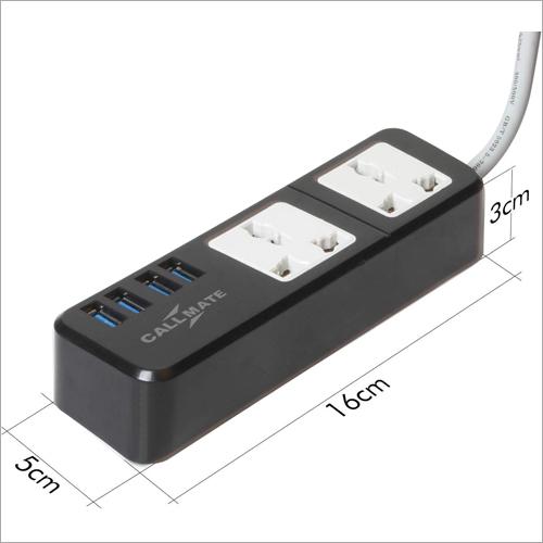 Extension Board, 4 USB Ports, 2 Sockets