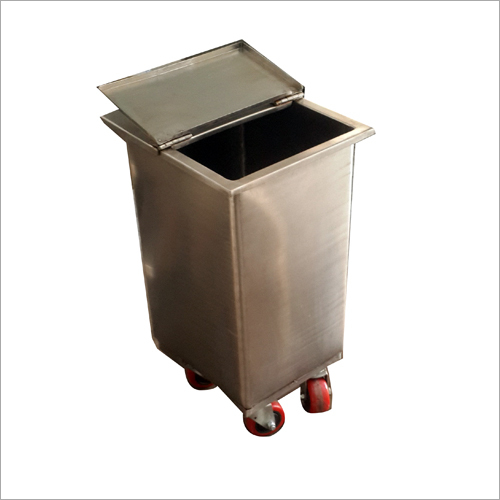Stainless Steel Ingredient Bin