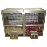 Stainless Steel Vegetable Bin