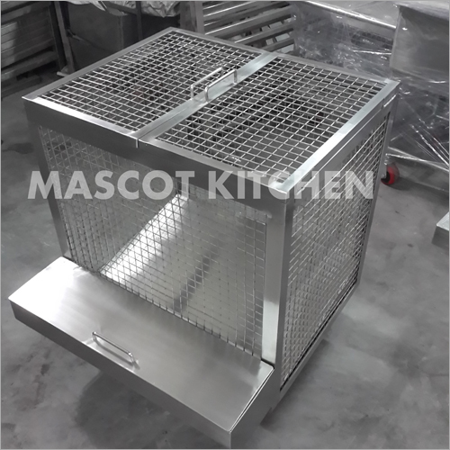 Stainless Steel Potato Bin