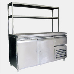 Pick Up Counter Under Refrigerator