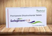 Pramipexole Di Hcl Monohyrate 0.5 mg,1.5 mg & 3 mg