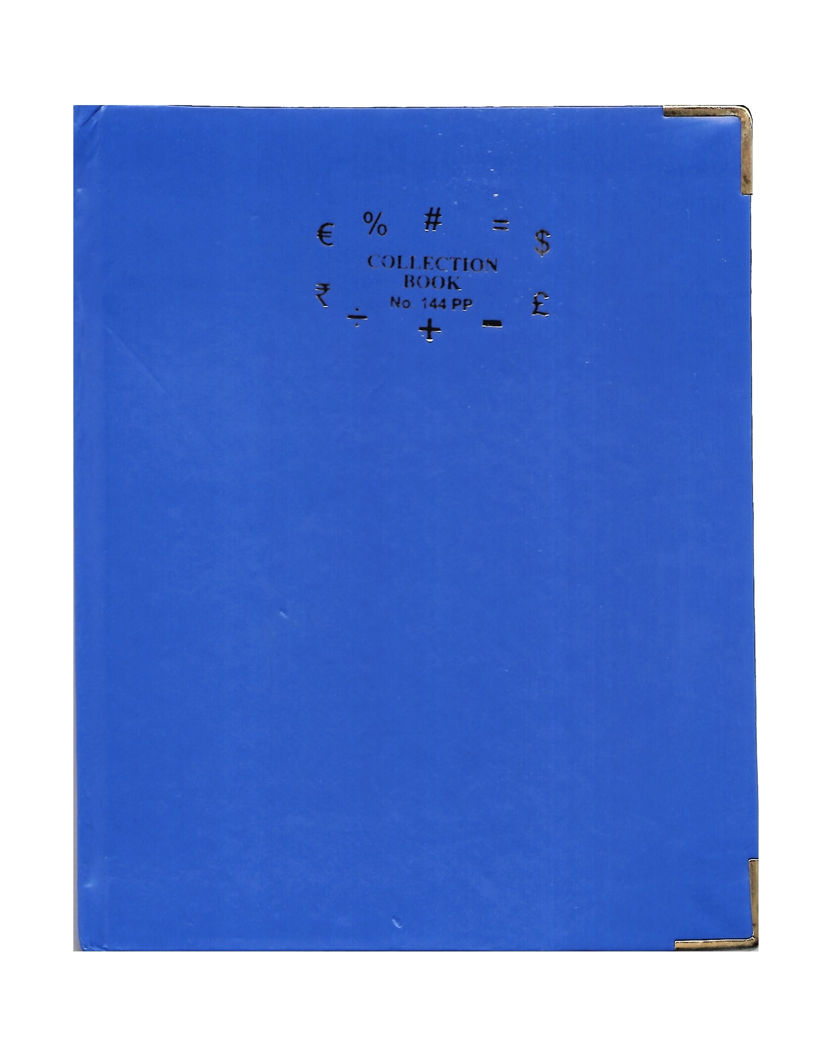 Copy Size Collection Book, 70GSM, 144 Pages