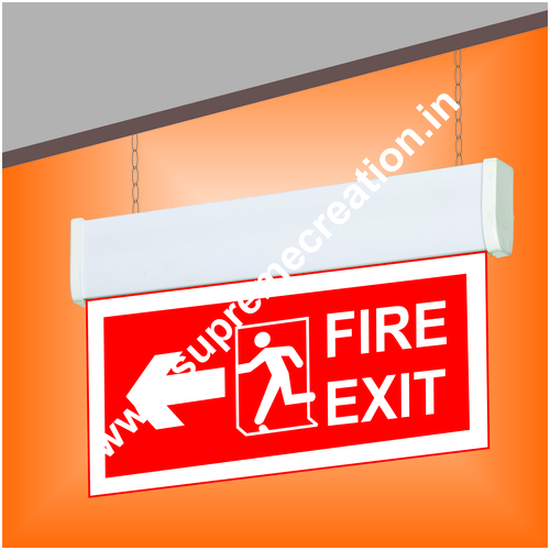 Ceiling Mounted Fire Exit Lights