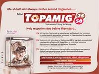 Topiramate -25 mg & 50 mg