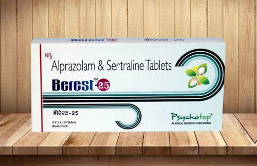 Aprazolam & Sertraline Combination
