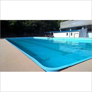 Blue FRP Swimming Pool, for Amusement Park,Residential