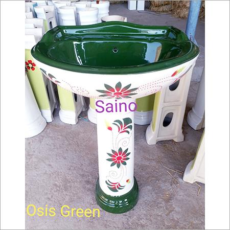 Printed Wash Basin Set