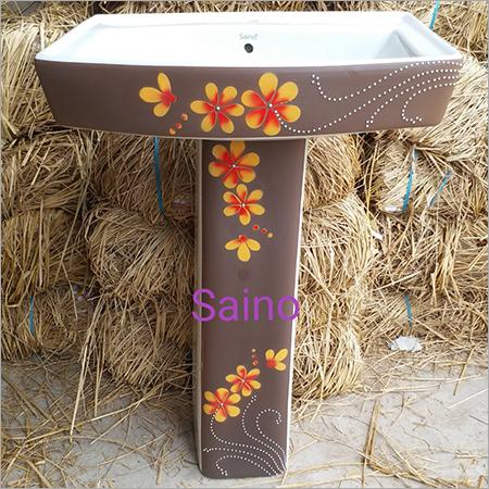 Sterling Wash Basin With Pedestal