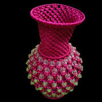 Macrame Flower Pot