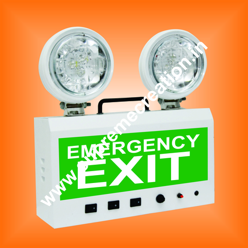 Double Sided Emergency Exit Sign