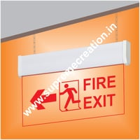 Fire Exit Sign Light